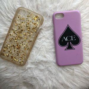 Accessories - IPhone 7 Phone cases BUNDLE!!